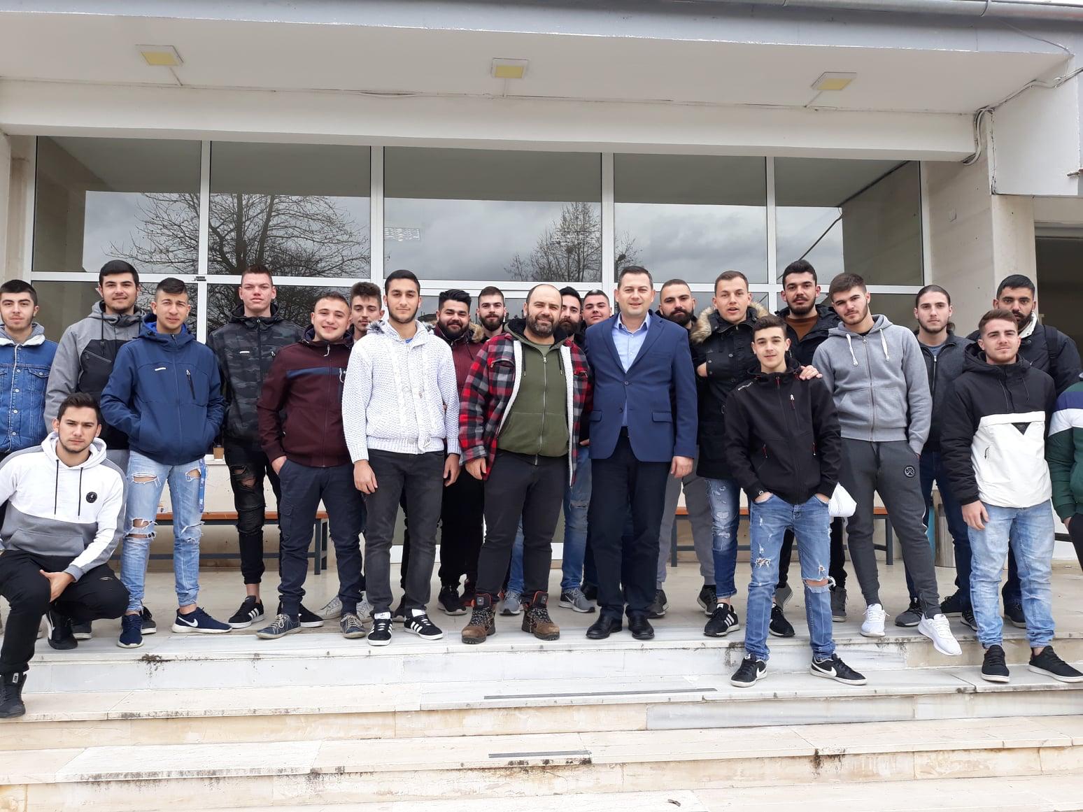 ΠΔΕ: Την Γαλακτοκομική Σχολή Ιωαννίνων επισκέφτηκε ο Αντιπεριφερειάρχης Αγροτικής Ανάπτυξης Θ. Βασιλόπουλος