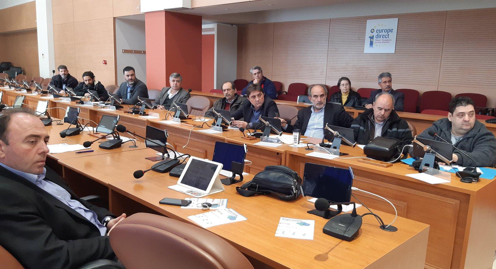 ΠΔΕ: Ενημέρωση των περιφερειακών παρατάξεων, ανά Περιφερειακή Ενότητα, για τα μέτρα που λαμβάνονται για τον κορωνοϊό και τον ρόλο της Περιφέρειας Δυτικής Ελλάδας