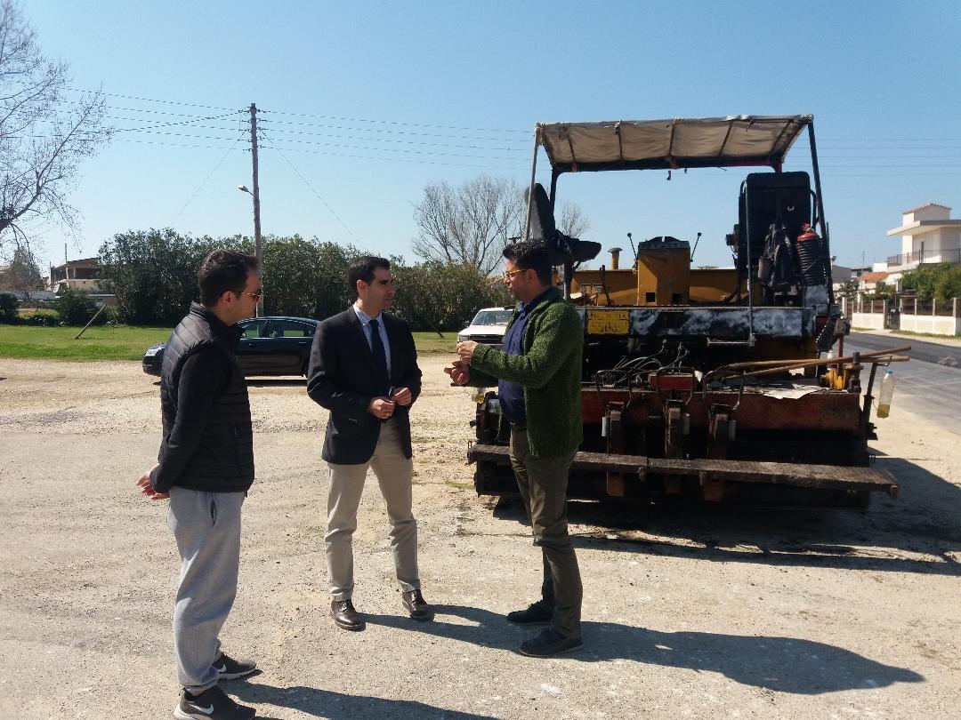 ΠΕ Ηλείας: Αυτοψία Αντιπεριφερειάρχη Β. Γιαννόπουλου στο έργο συντήρησης του επαρχιακού οδικού δικτύου, στην Βάρδα