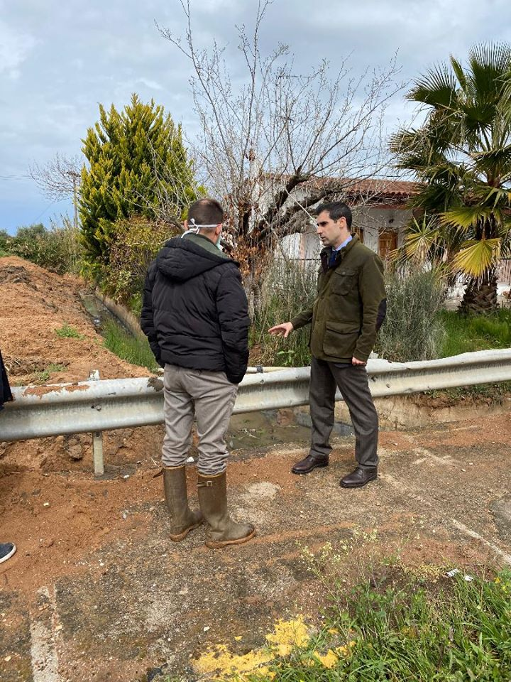 Π.Ε. Ηλείας: Έργο «θωράκισης» στο Κουρτέσι- Αυτοψία Αντιπεριφερειάρχη Βασίλη Γιαννόπουλου