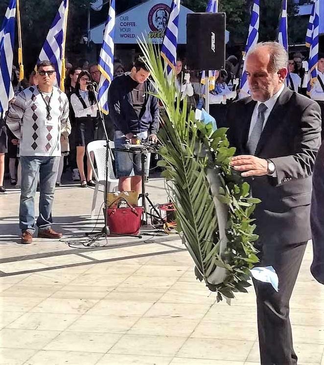 Μήνυμα Απόστολου Κατσιφάρα για την Επέτειο της 25ης Μαρτίου: Εθνική ομοψυχία, αλληλεγγύη, συστράτευση και ευθύνη