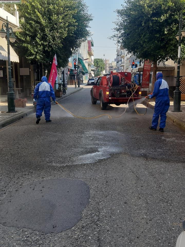 Δήμος Ήλιδας: Συνεχίζονται οι απολυμάνσεις σε κάθε σημείο του Δήμου- Μεγάλο πρόβλημα η αυθαίρετη εναπόθεση απορριμμάτων εκτός κάδων