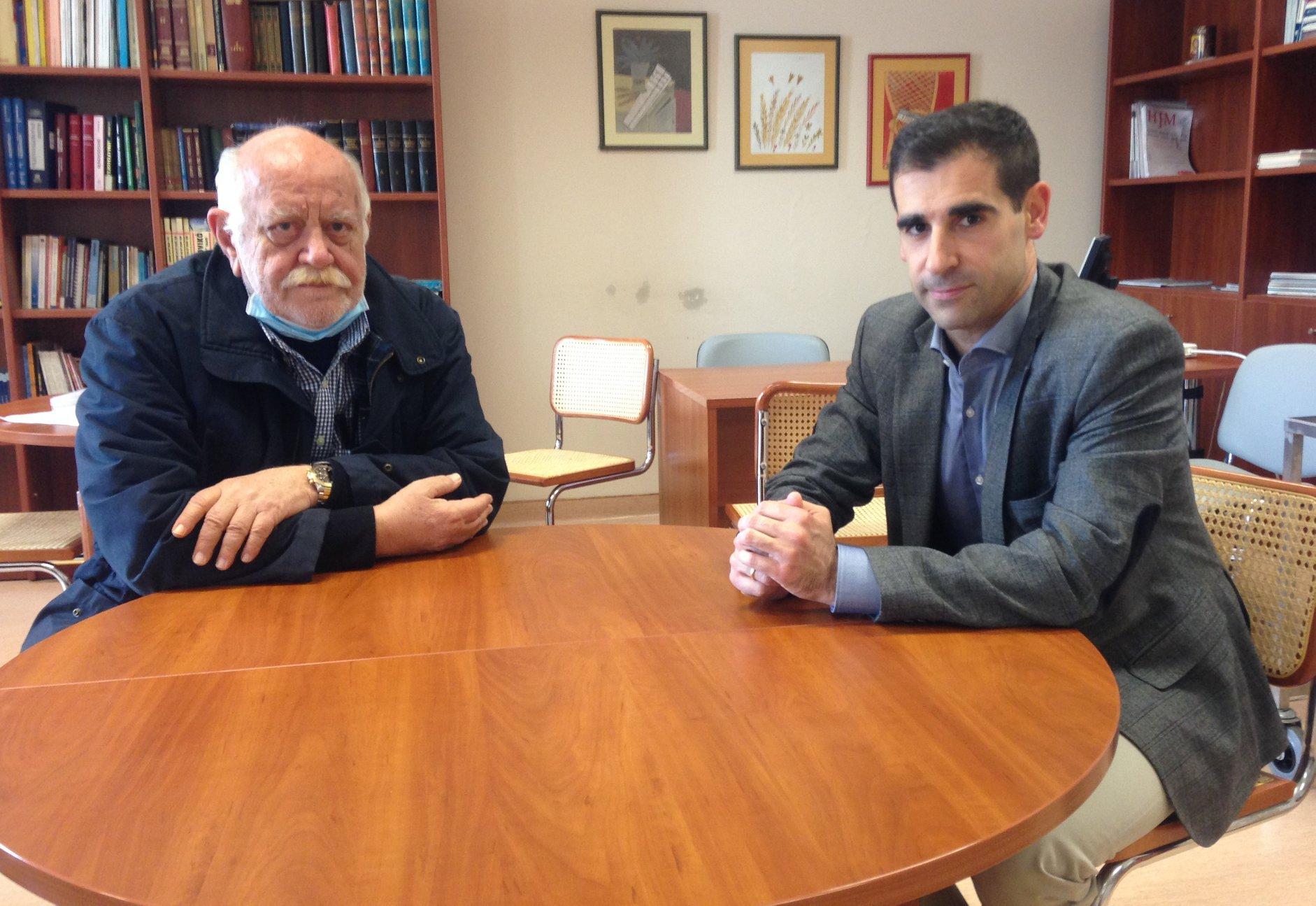 Συναντήσεις Αντιπεριφερειάρχη Π.Ε Ηλείας Βασ. Γιαννόπουλου με τον Διοικητή Γεν. Νοσοκομείου Ηλείας κ. Χριστόπουλο και την αν. Διοικήτρια κα Αγγελάκου (photos)