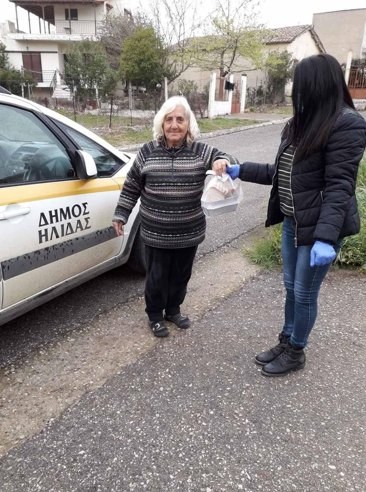 Δημοτική Κοινωφελής Επιχείρηση Δήμου Ήλιδας: Στήριξη σε όλες τις ευπαθείς ομάδες- Συσσίτια καθημερινά για περίπου 50 άτομα (photos)