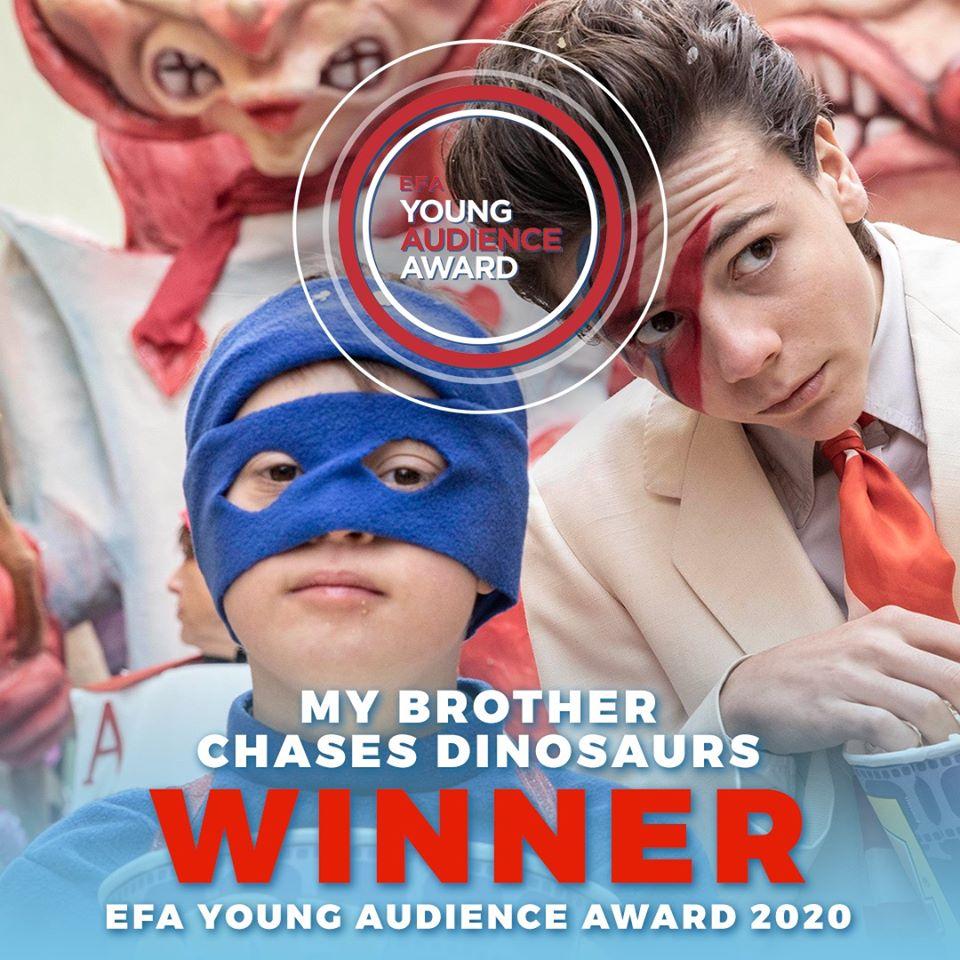 Φεστιβάλ Κινηματογράφου Ολυμπίας για Παιδιά και Νέους: Στην ταινία «Ο αδελφός μου κυνηγάει δεινόσαυρους» το Ευρωπαϊκό Βραβείο Νεανικού Κοινού 2020