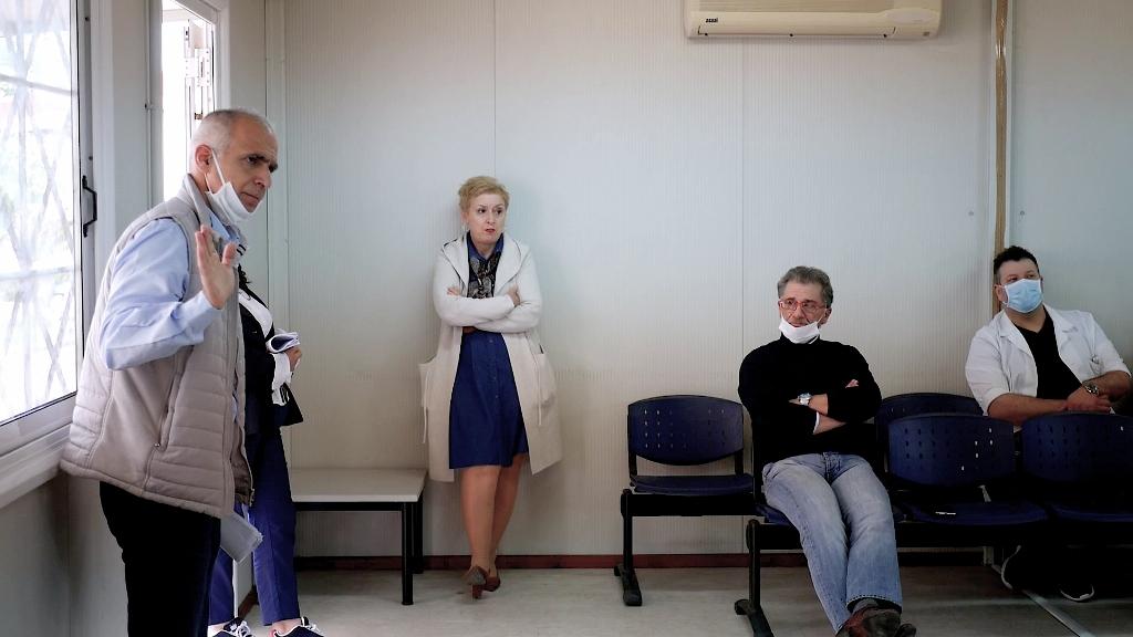Γ. Λυμπέρης : «Το νοσοκομείο Αμαλιάδας επιστρέφει στην κανονικότητα» - «Εντός του 15μέρου σε χρήση τα επείγοντα ιατρεία, η μονάδα βραχείας νοσηλείας της νέας πτέρυγας και ο νέος υποσταθμός της ΔΕΗ» (photos)