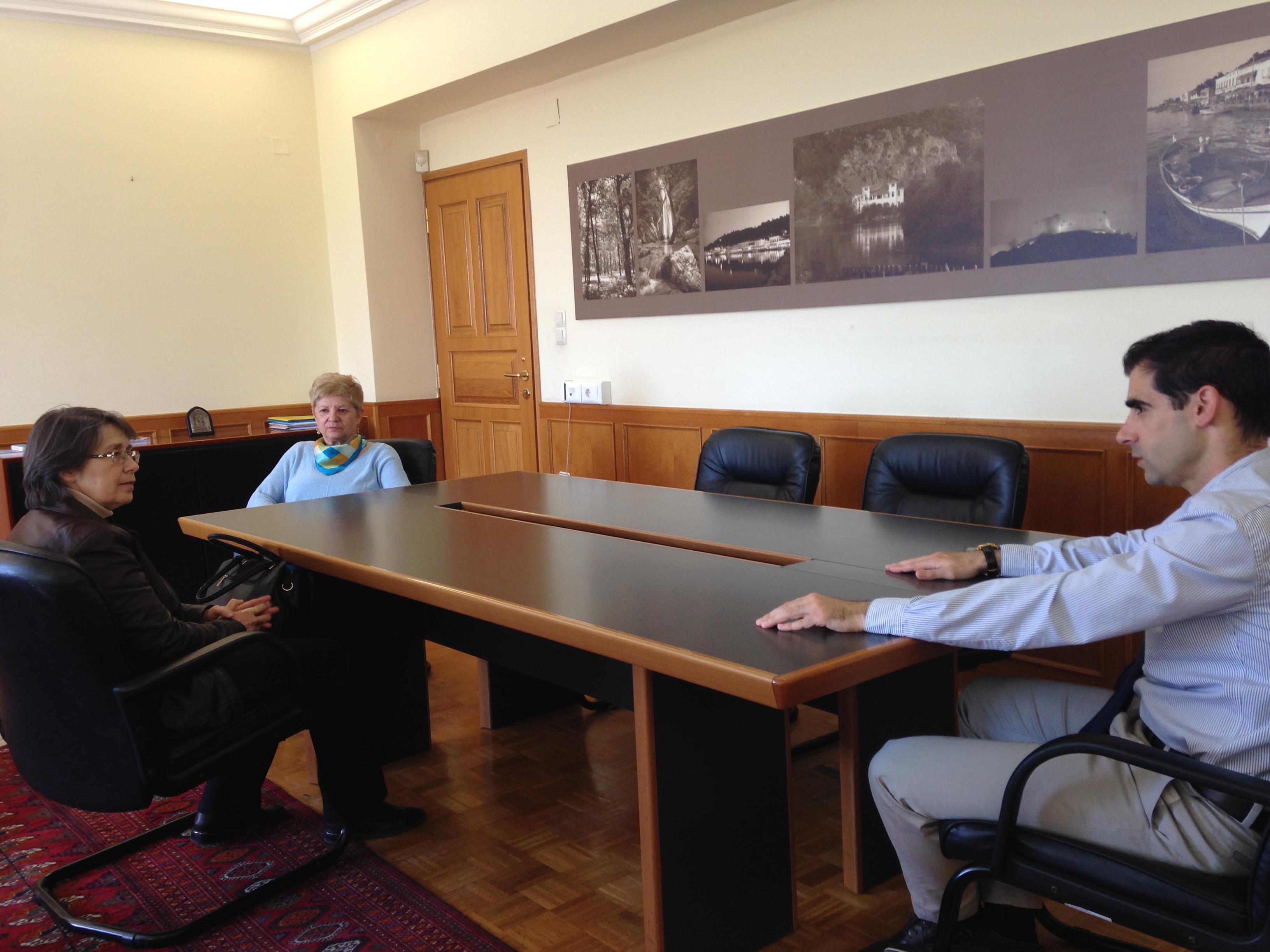 Πύργος: Συνεργασία Αντιπεριφερειάρχη Π.Ε Ηλείας Β. Γιαννόπουλου με εκπροσώπους του εμπορικού κόσμου