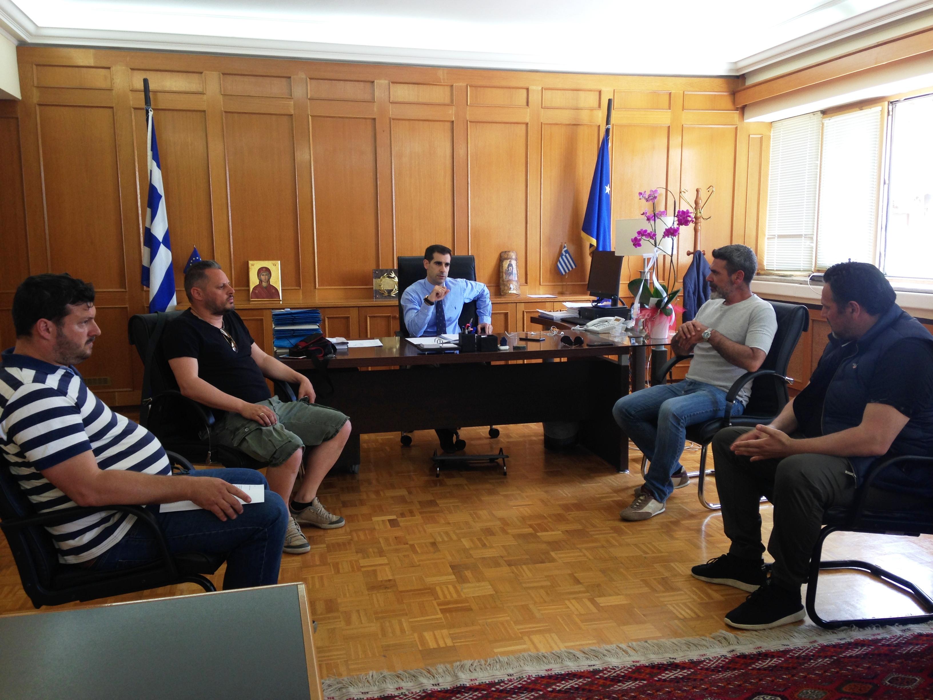 Πύργος: Συναντήσεις Αντιπεριφερειάρχη Π.Ε Ηλείας Β. Γιαννόπουλου με επιχειρηματίες του κλάδου της εστίασης σε Πύργο και Αμαλιάδα για την ομαλή επαναλειτουργία των καταστημάτων τους (photos)