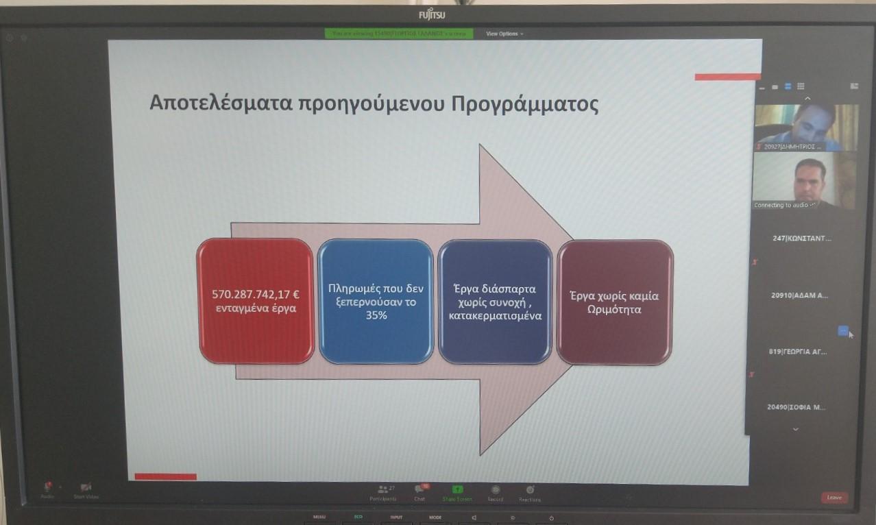 ΠΔΕ-Ν. Φαρμάκης: «Βάζουμε τέλος στον αντιαναπτυξιακό κατακερματισμό έργων και τις ανισότητες- Το νέο τεχνικό πρόγραμμα είναι εμπροσθοβαρές και στοχεύει σε ανάπτυξη για όλους!» (BINTEO)