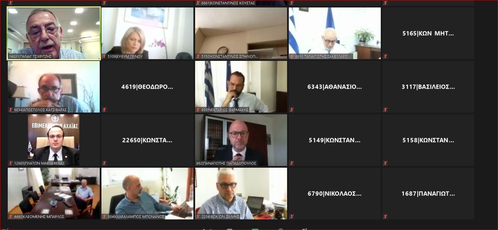 ΠΔΕ- Ν. Φαρμάκης: Στόχος μας η στήριξη της τοπικής οικονομίας και περισσότερες θέσεις εργασίας-  Διαβούλευση με τους παραγωγικούς φορείς στο Περιφερειακό Συμβούλιο