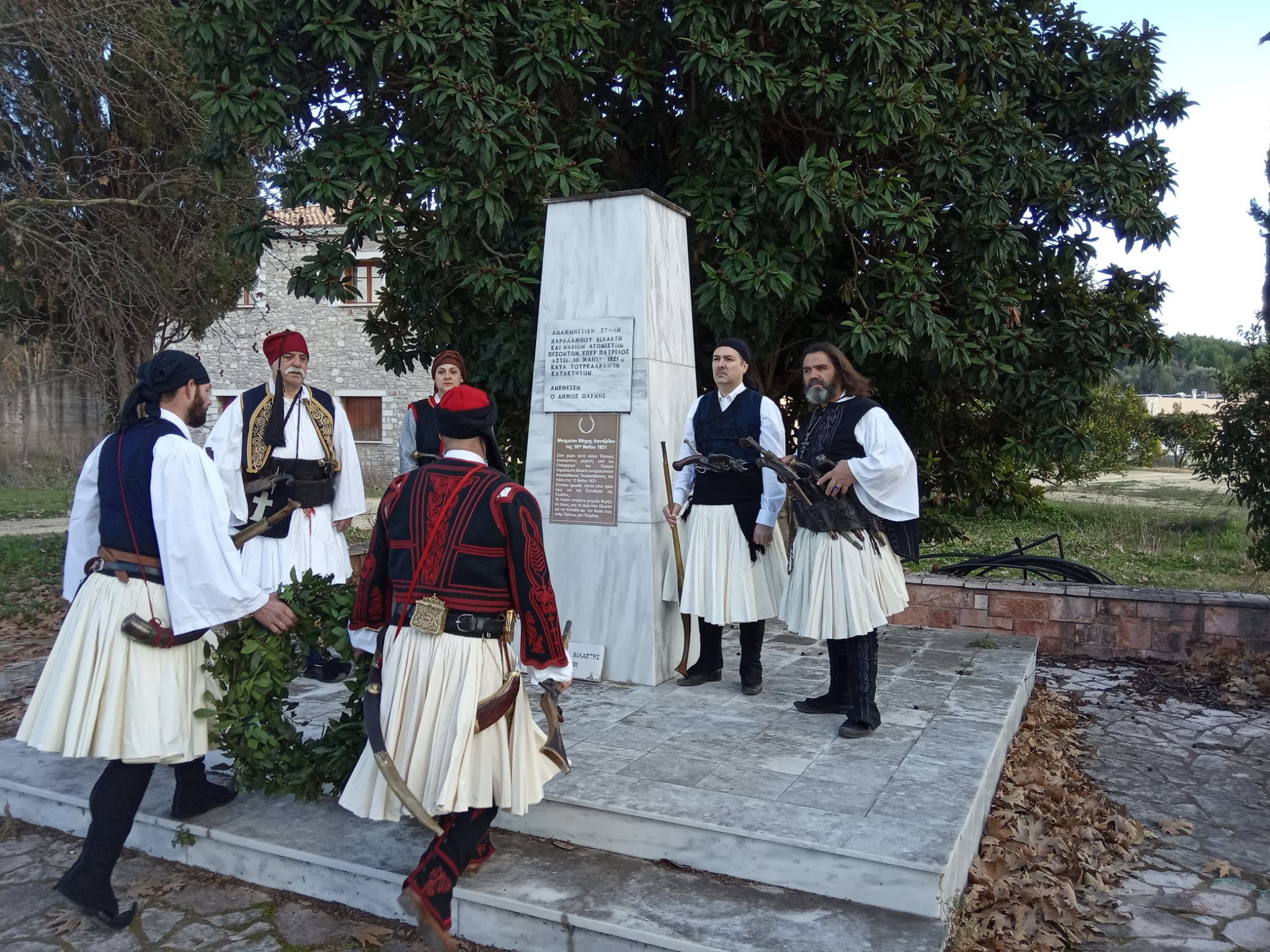 """Σύλλογος Φίλων Ιστορίας """"Χαράλαμπος Βιλάετης"""": Ημέρα μνήμης και τιμής η 10η Μαϊου για τον Πύργιο αγωνιστή που έπεσε μαχόμενος στο Λαντζόι το 1821"""