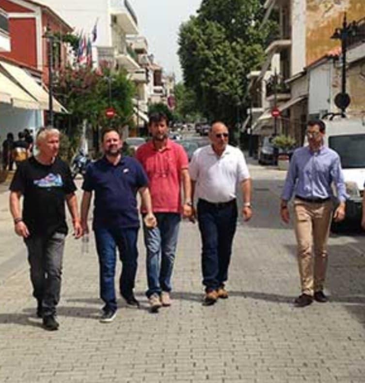 Νίκος Κοροβέσης: Μένουμε Ηλεία, στηρίζουμε την Ηλειακή Οικονομία! - Ξεκίνησε νέο κύκλο επαφών -επισκέψεων στις αγορές (photos)