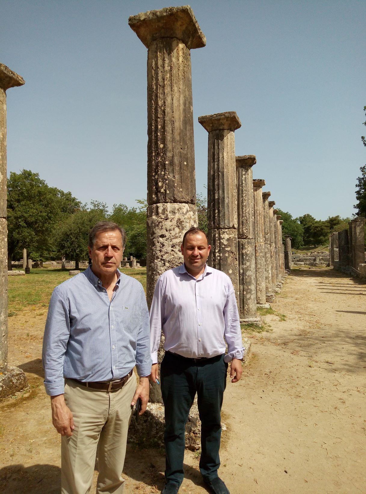 Αρχαία Ολυμπία: Μήνυμα Δημάρχου Γ. Γεωργιόπουλου από τον αρχαιολογικό χώρο που επαναλειτουργεί: «Η Ολυμπία είναι ένας ασφαλής τουριστικός προορισμός» (photos)