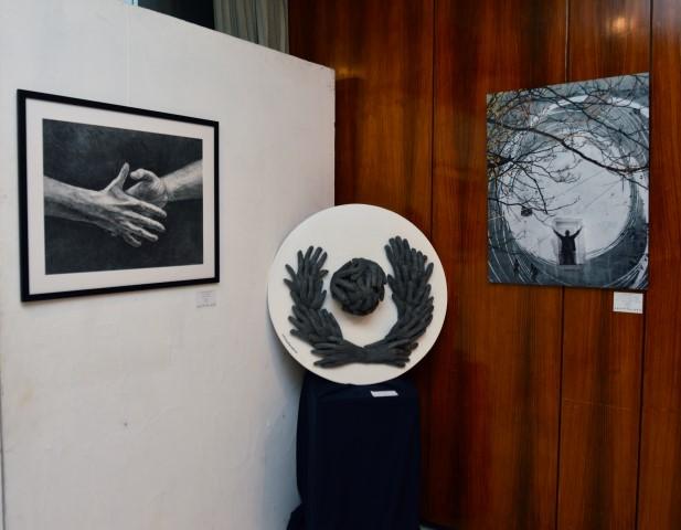 Συμπολιτεία Ολυμπίας: Εικαστική Έκθεση και βραβεύσεις για την Εκεχειρία και το «Ευ Αγωνίζεσθαι» στο πλαίσιο των εκδηλώσεων  του «Δρόμου Ολυμπιακής Εκεχειρίας 2020» (photos)
