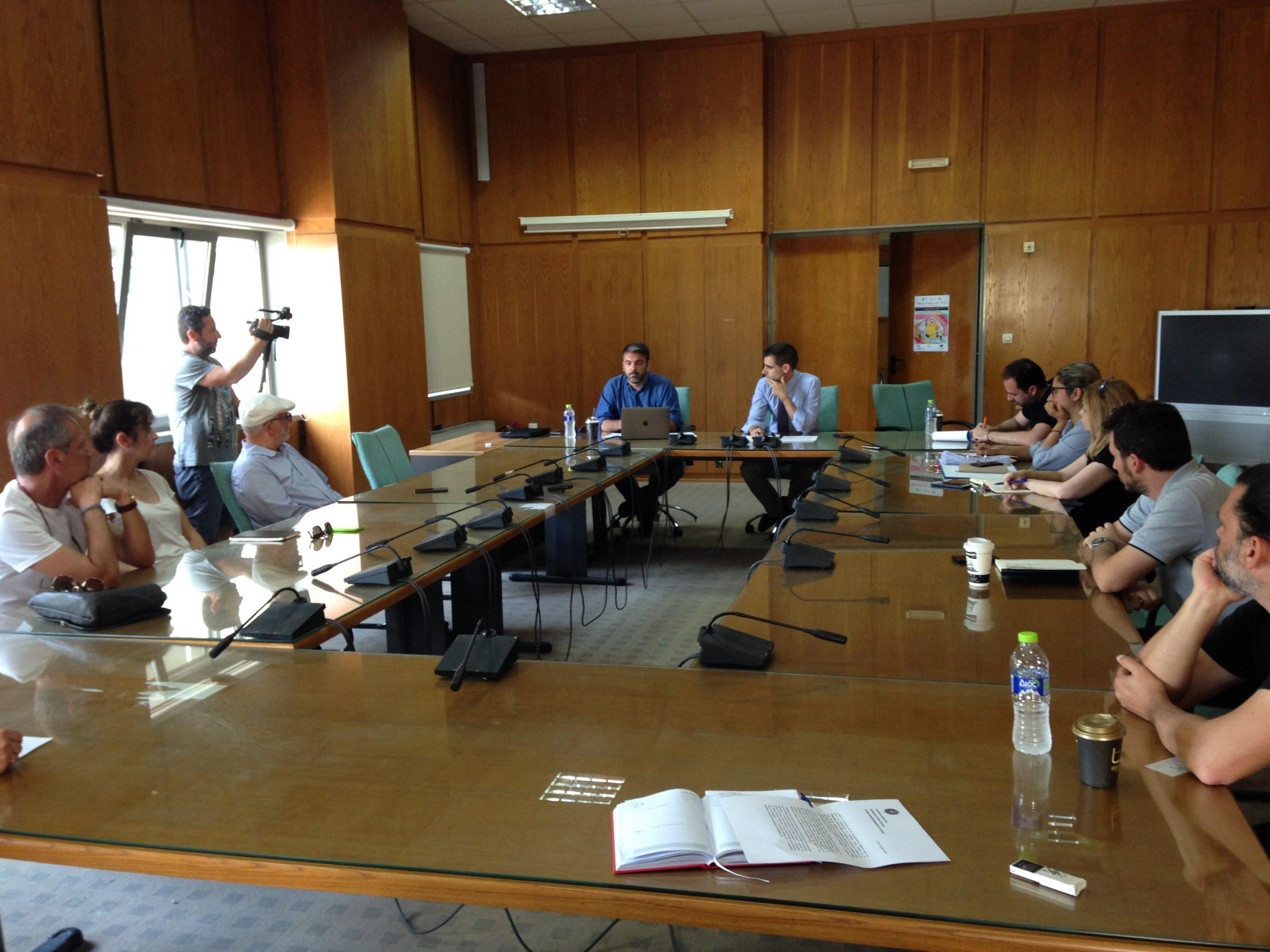 Π.Ε. Ηλείας- Β. Γιαννόπουλος: «Στόχος μας η ενίσχυση της καινοτομίας και της εξωστρέφειας των επιχειρήσεων- Ενημερωτική συνάντηση για την λειτουργία των «Creative Hubs»