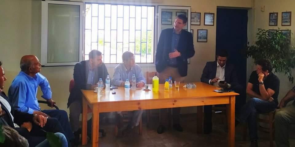 Τραγανό: Τα μεγάλα προβλήματα των αγροτικών προϊόντων τέθηκαν σε σύσκεψη με βουλευτές της Ηλείας στον Αγροτικό Συνεταιρισμό Τραγανού