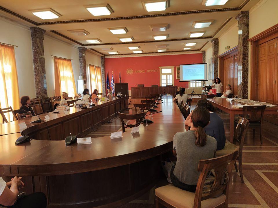 Δήμος Πύργου: Στόχος της Δημοτικής αρχής η προστασία του ανθρώπινου δυναμικού Καθαριότητας των σχολικών μονάδων στον αγώνα πρόληψης από τον covid-19 (photos)