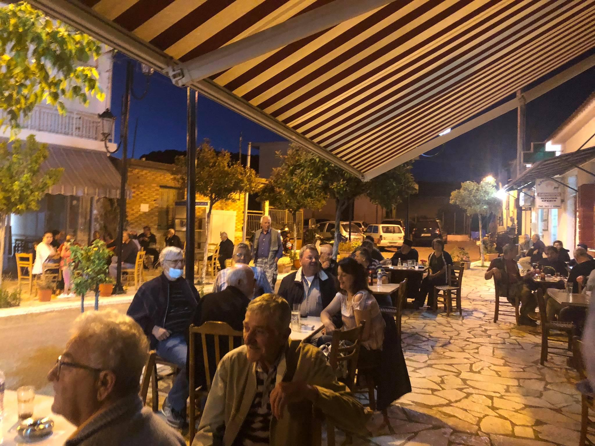 Ο Δήμαρχος Πύργου Τάκης Αντωνακόπουλος στο γραφικό Κολίρι (photos)