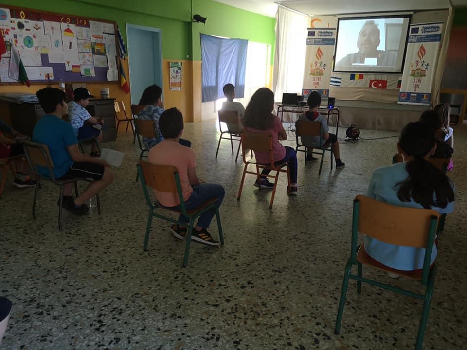 Δημοτικό Σχολείο Σκουροχωρίου: Με επιτυχία ολοκληρώθηκαν οι τηλε-επισκέψεις Ολυμπιονικών