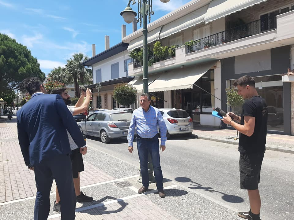 Δήμος Πηνειού: Ξεκίνησε σήμερα η πρώτη φάση καταγραφής της υφιστάμενης κατάστασης της υπηρεσίας ενεργειακής αναβάθμισης στον φωτισμό του Δήμου