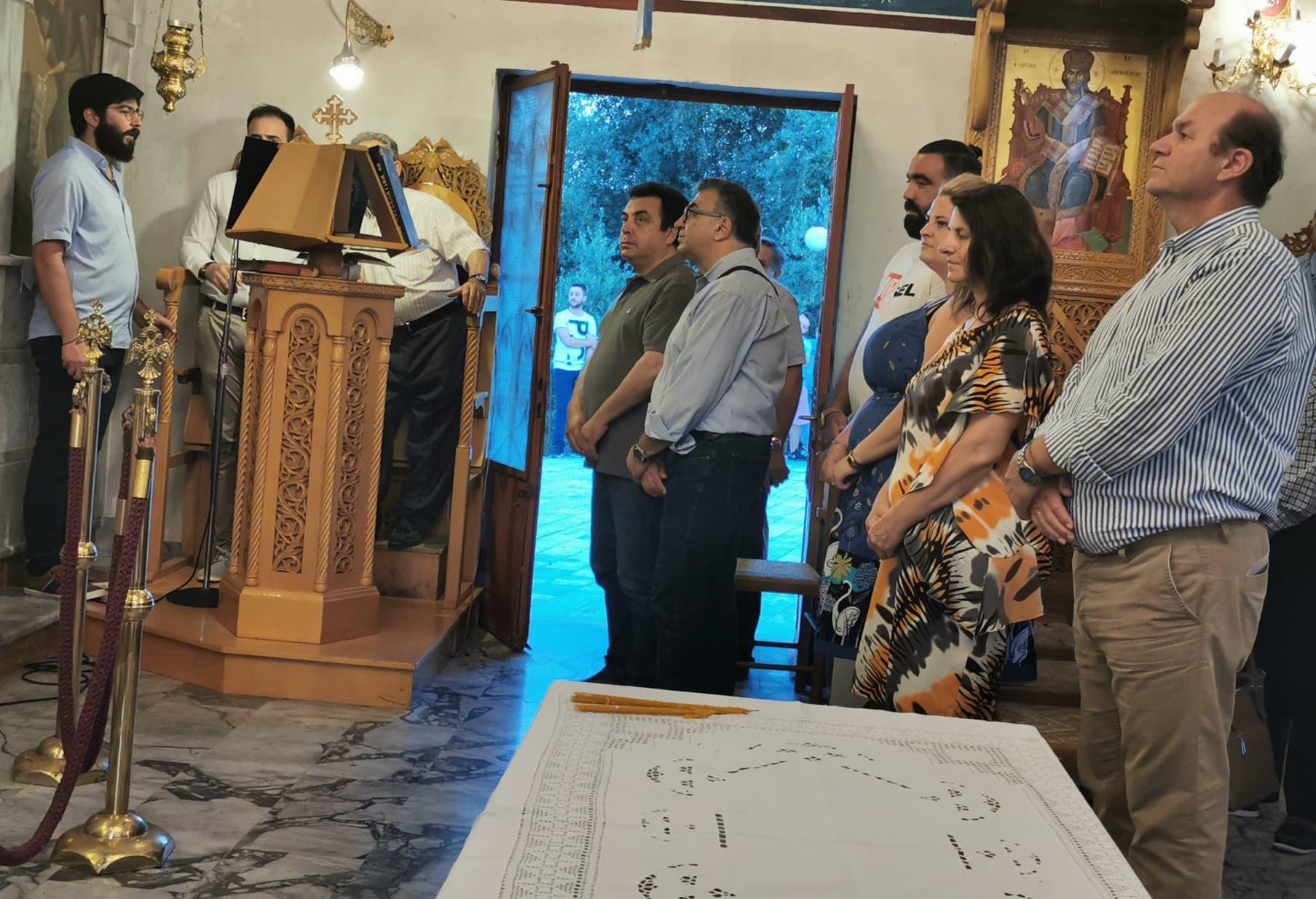 Οι Θεμελιωτές της Εκκλησίας μας Πέτρος και Παύλος, εορτάστηκαν με ιεροπρέπεια στην Χαριά Πύργου