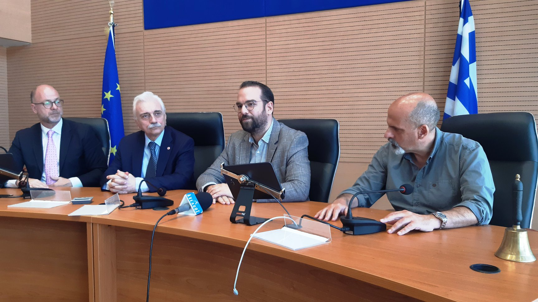 ΠΔΕ: Τρεις πυλώνες συνεργασίας της Περιφέρειας Δυτικής Ελλάδας με τον Ε.Ε.Σ. - Δηλώσεις (photos-ΒΙΝΤΕΟ)