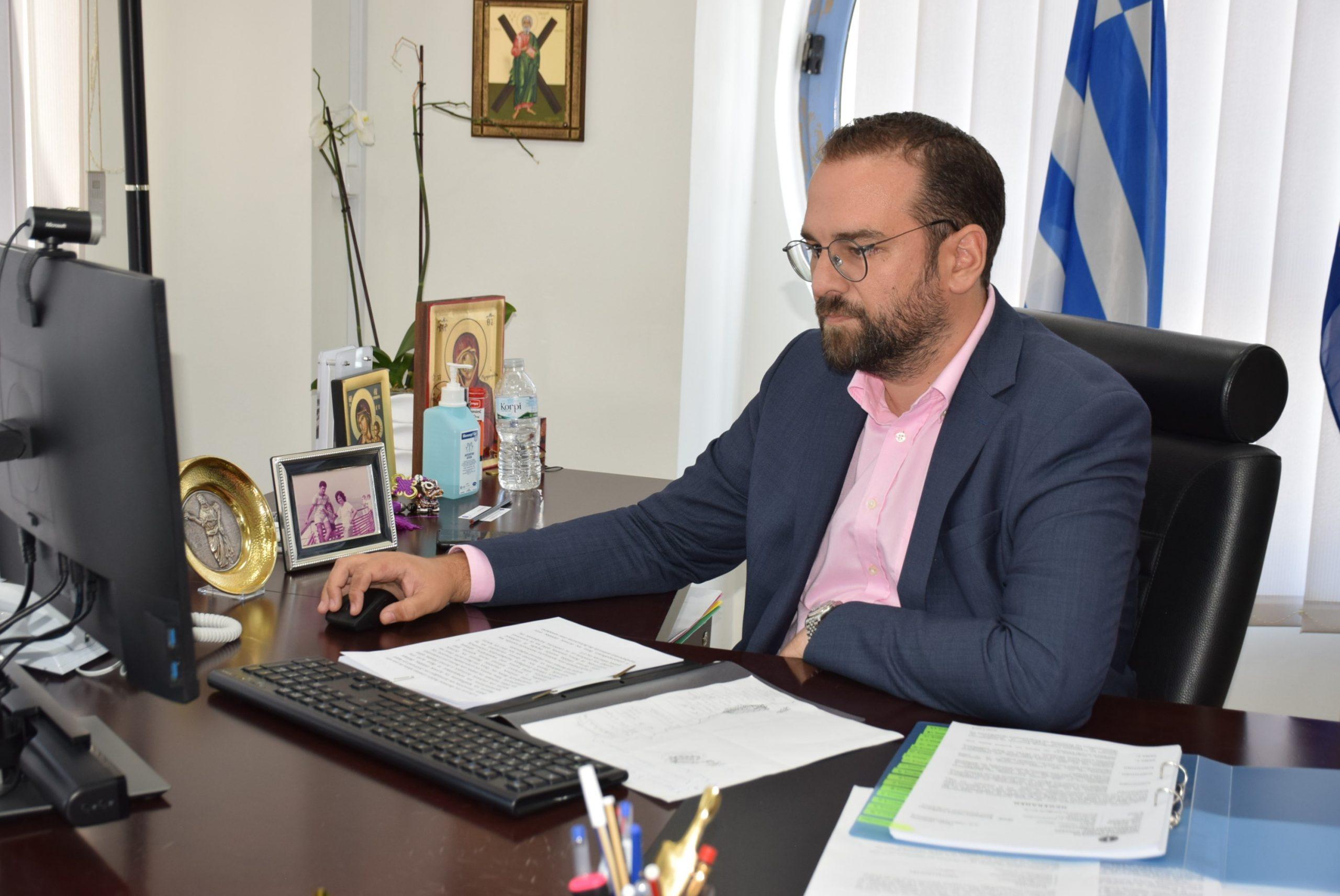 ΠΔΕ: N. Φαρμάκης για το φυσικό αέριο στη Δυτική Ελλάδα (Πάτρα- Πύργο- Αγρίνιο): Σε λιγότερο από μήνα η δημόσια πρόσκληση