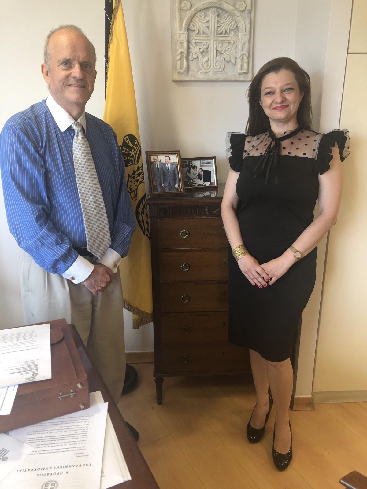 Μπαράζ συναντήσεων Αυγερινοπούλου για τη δρομολόγηση αναπτυξιακών έργων στην Ηλεία με δημόσιους και ιδιωτικούς φορείς