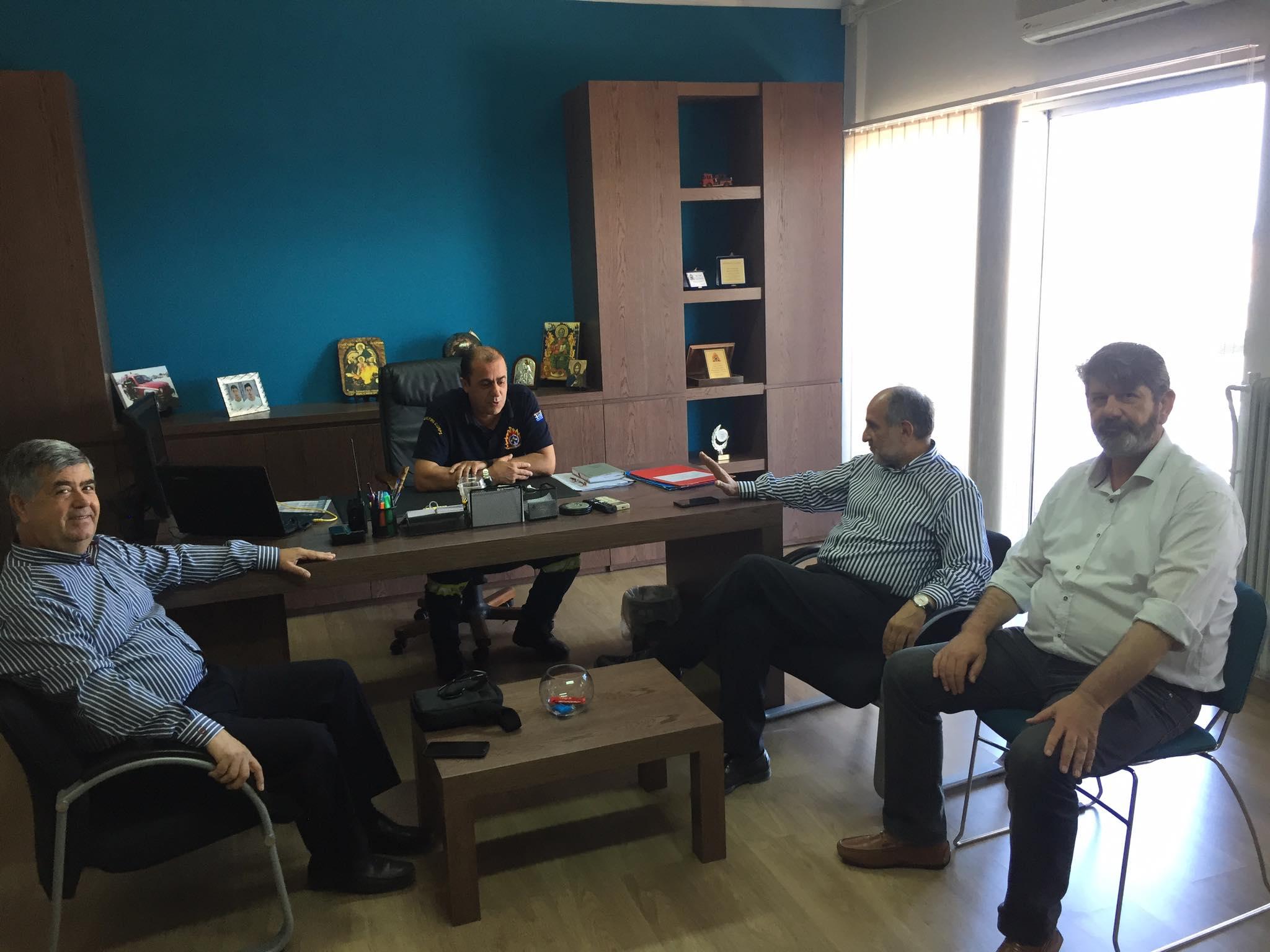Στην Πυροσβεστική Υπηρεσία η περιφερειακή παράταξη Δυτική Ελλάδα-Δικαίωμα στην Πρόοδο (photos)