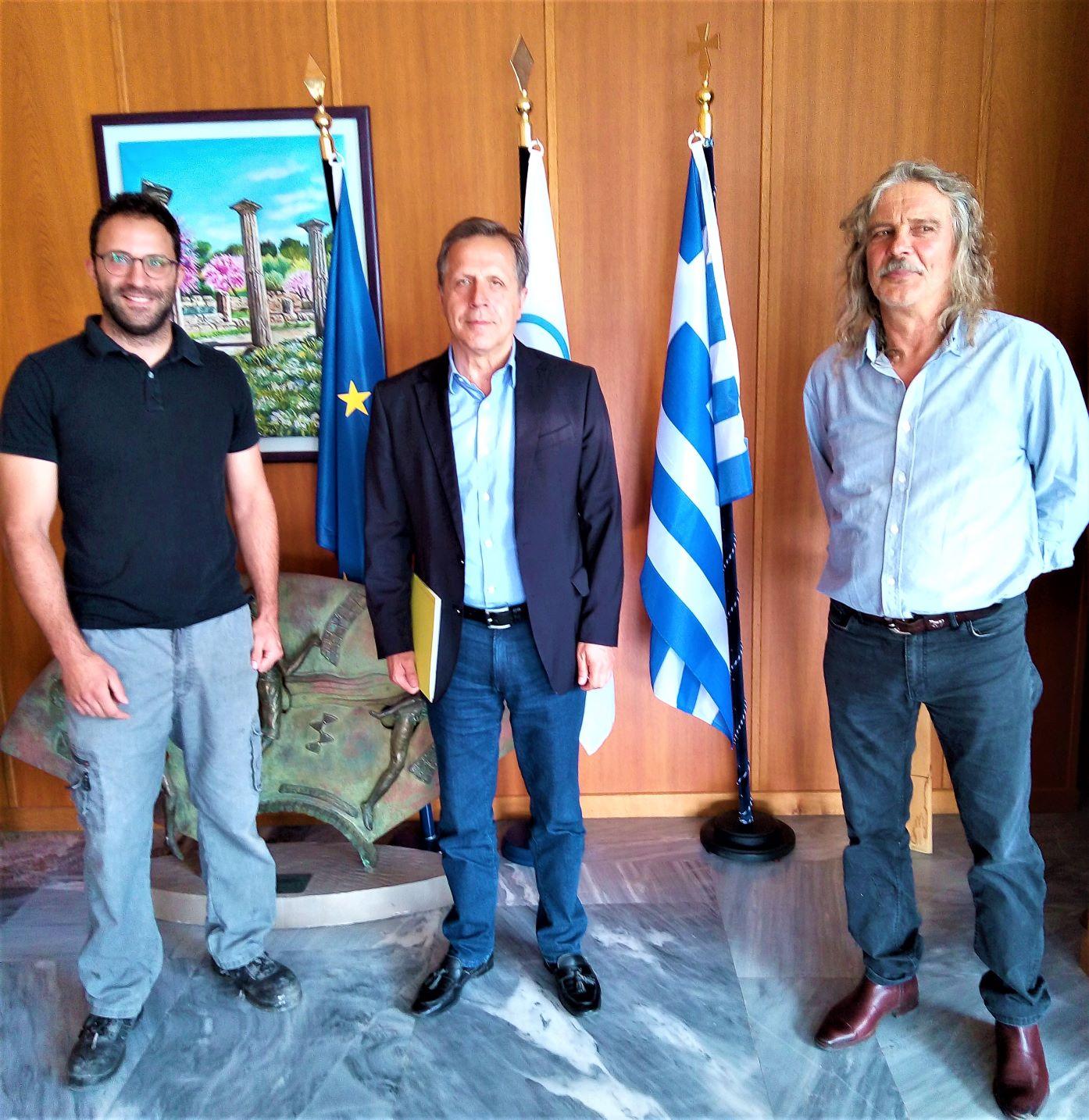 Δήμος Αρχαίας Ολυμπίας: Ορκίστηκε δημοτικός σύμβουλος ο Γιώργος Γεωργούλης