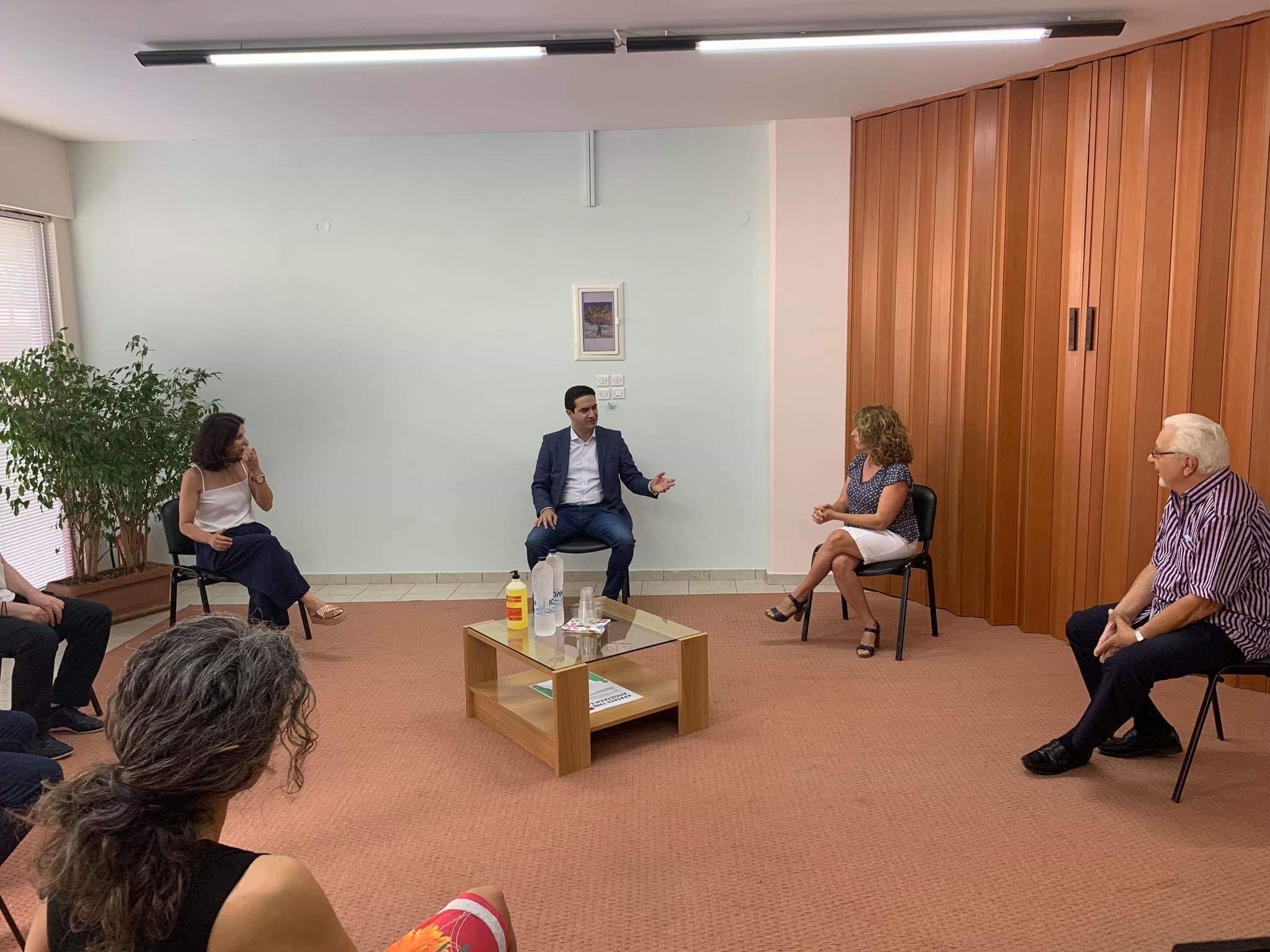 Πύργος: Επίσκεψη Μιχάλη Κατρίνη στο κέντρο πρόληψης «Παρεμβάσεις» και τη θεραπευτική μονάδα του ΟΚΑΝΑ στην Ηλεία (photos)