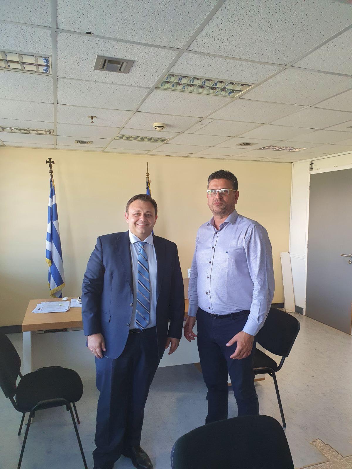 Δήμος Ανδραβίδας-Κυλλήνης: Πολλαπλές συναντήσεις Γιάννη Λέντζα με Υπουργούς, και Φορείς του Δημοσίου, για αναπτυξιακά έργα