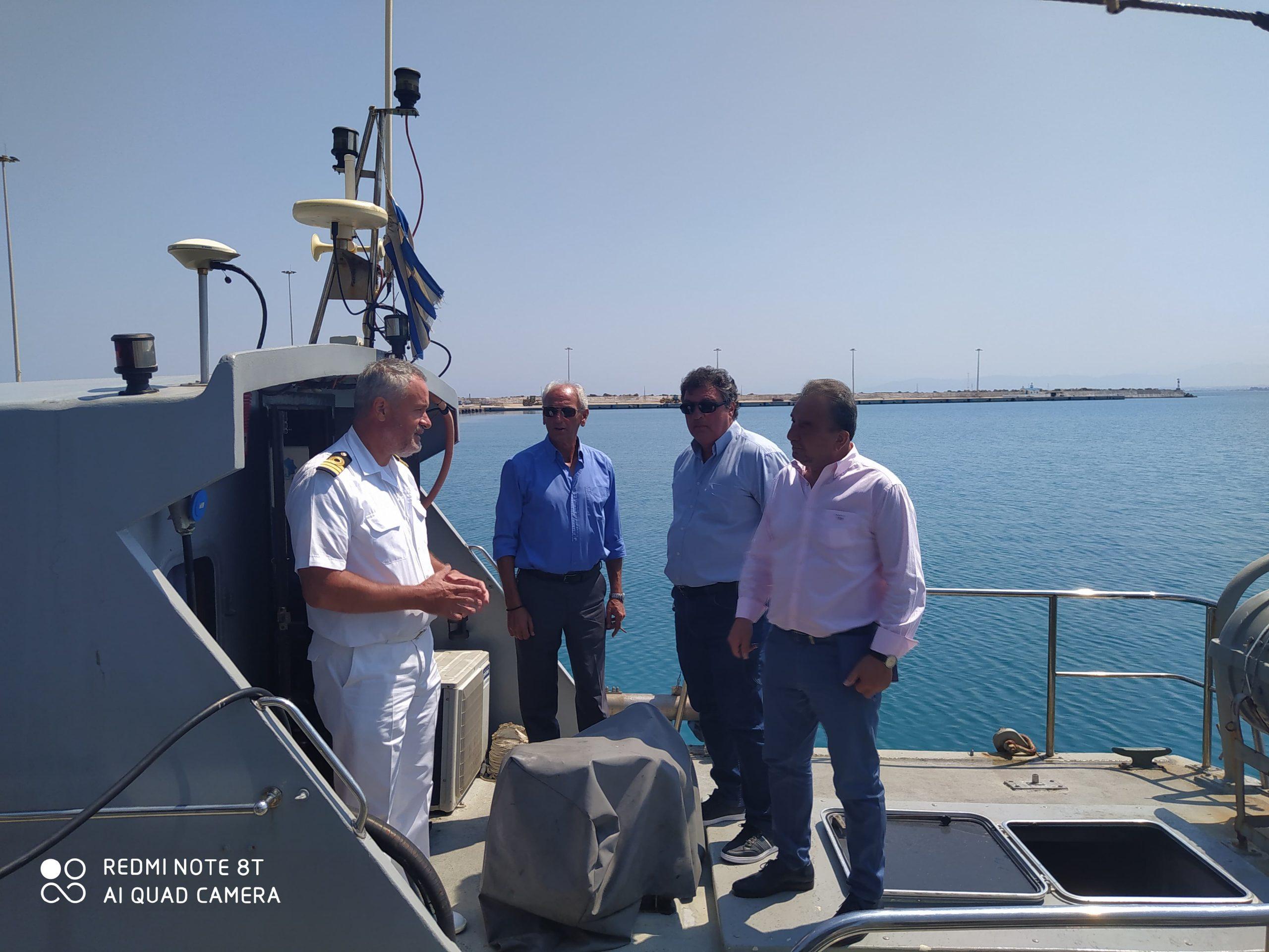 Δήμος Ανδραβίδας-Κυλλήνης: Ολοκλήρωση των εργασιών από το Υδρογραφικό (Υ/Γ) ΣΤΡΑΒΩΝ στο Λιμάνι της Κυλλήνης (photos)