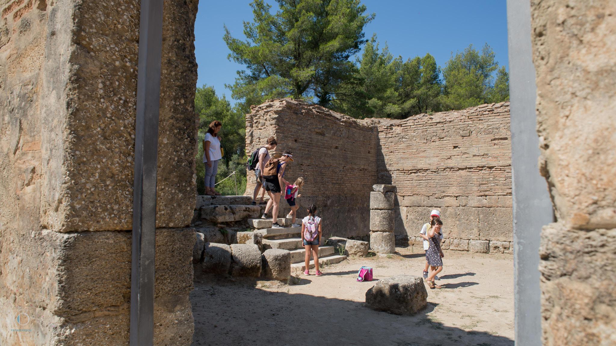Διεθνές Φεστιβάλ Τεχνών Αρχαίας Ολυμπίας: «Ένα Φάρμακο»: Με ενθουσιασμό ξεκίνησε το βιωματικό θεατρικό εργαστήριο (photos)
