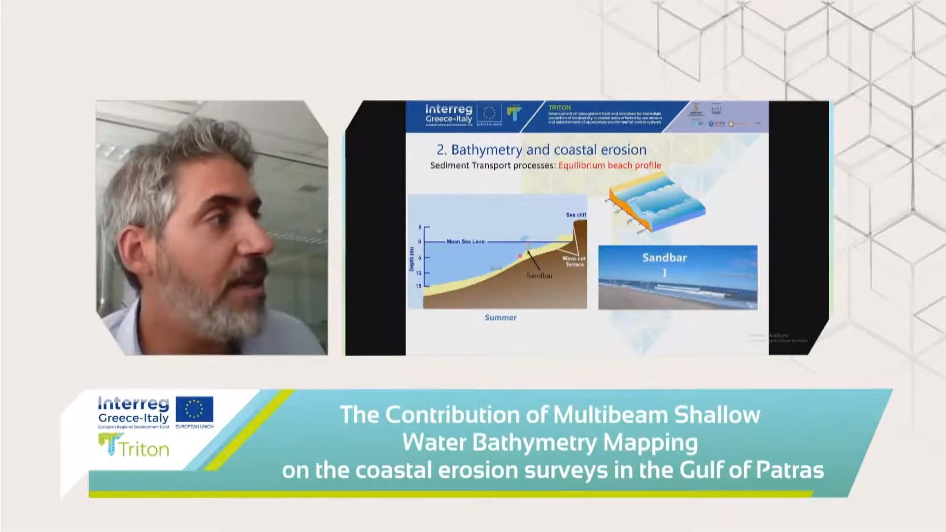 Περιφέρεια Δυτ. Ελλάδας: Το φαινόμενο της διάβρωσης των ακτών μέσα από τα αποτελέσματα του Ευρωπαϊκού Έργου «TRITON»