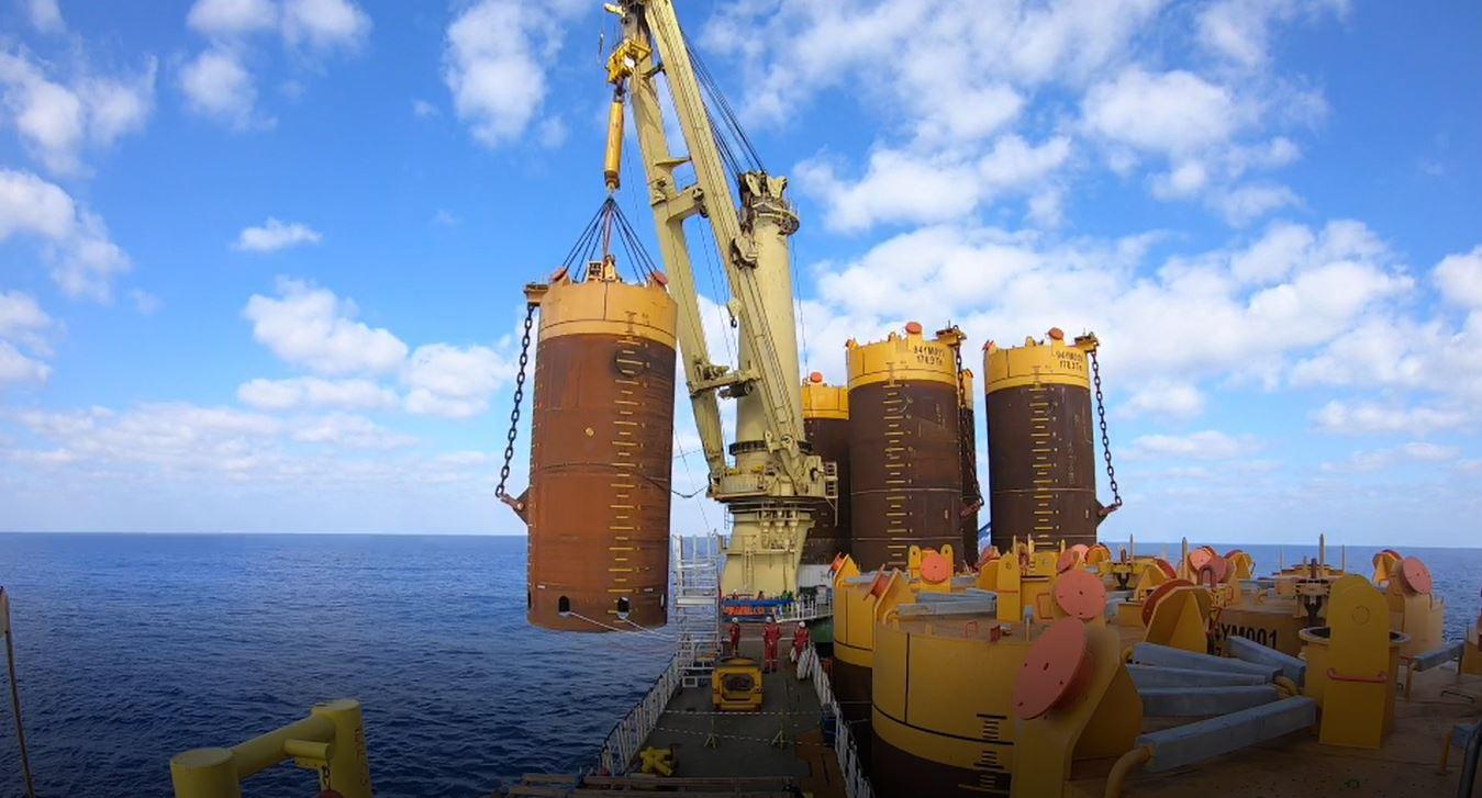 Energean: Δύο νέα ορόσημα στην ανάπτυξη του κοιτάσματος φυσικού αερίου Karish στο Ισραήλ (photos)