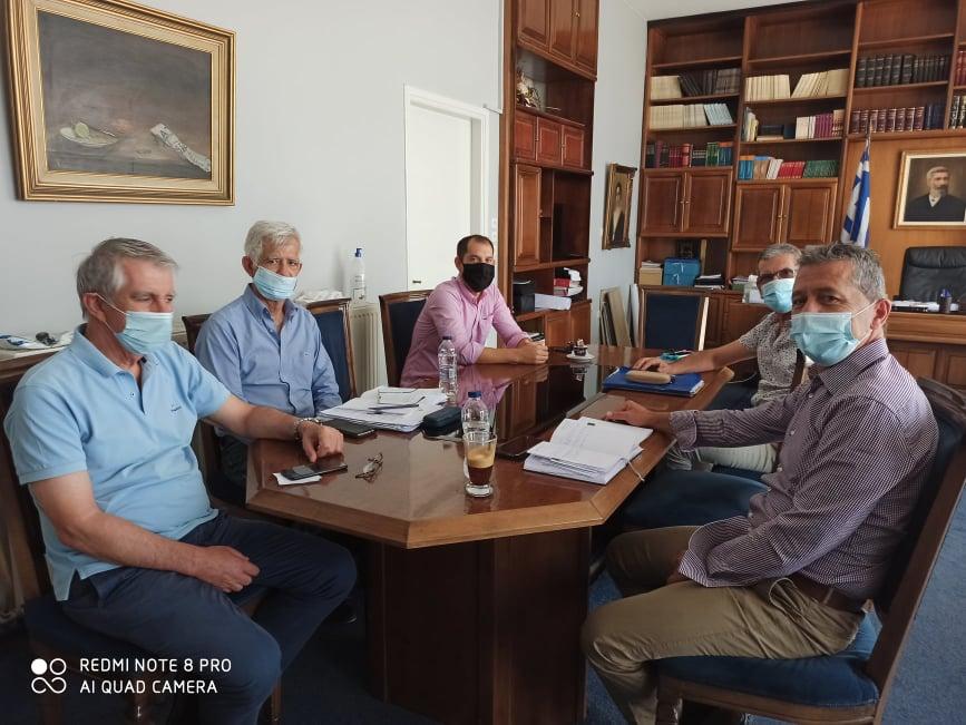 Δήμος Ήλιδας: Συνάντηση διευθυντή πρωτοβάθμιας εκπαίδευσης Ν. Ηλείας Νίκου Κλάδη με τον Αναπληρωτή Δημάρχου Ήλιδας Βασίλη Παπαδόπουλο