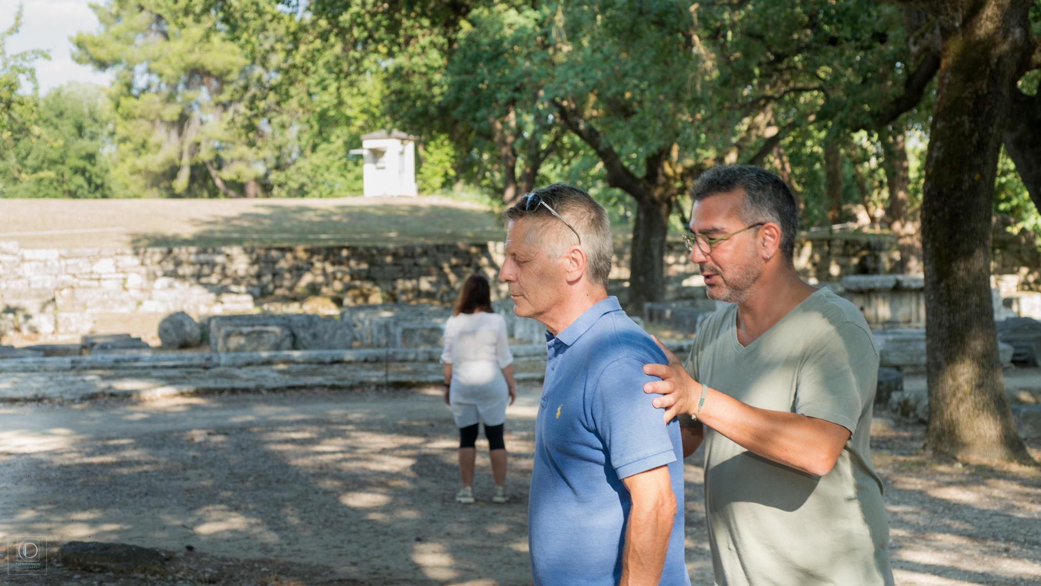 Ολοκληρώθηκε η 1η Συνάντηση Θεάτρου των Πολιτών Αρχαίας Ολυμπίας  -Ο λόγος στους θεατές: ανοιχτή συζήτηση με πολίτες για τις Βάκχες και τη Λυσιστράτη την Κυριακή 22/8