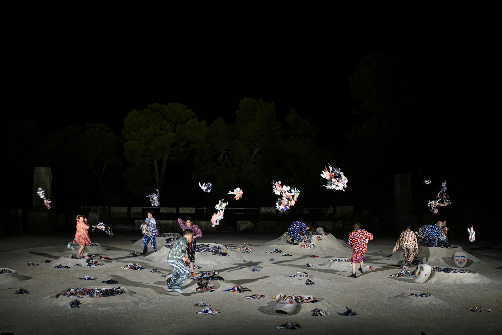 Το Εθνικό Θέατρο στο Διεθνές Φεστιβάλ Τεχνών Αρχαίας Ολυμπίας: «Λυσιστράτη» του Αριστοφάνη την Παρασκευή 21/8 στο θέατρο Φλόκα