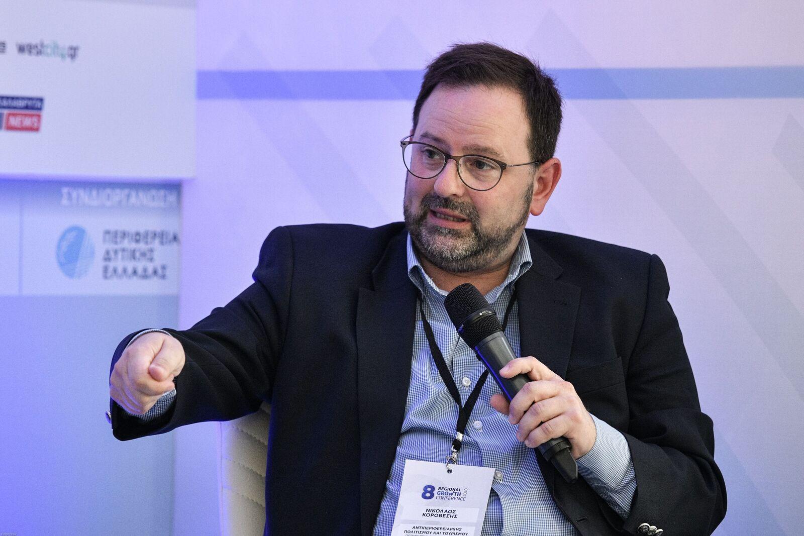 Νίκος Κοροβέσης: Αταλάντευτοι μπροστά στους άξονες Πολιτισμού και Τουρισμού της Περιφέρειας