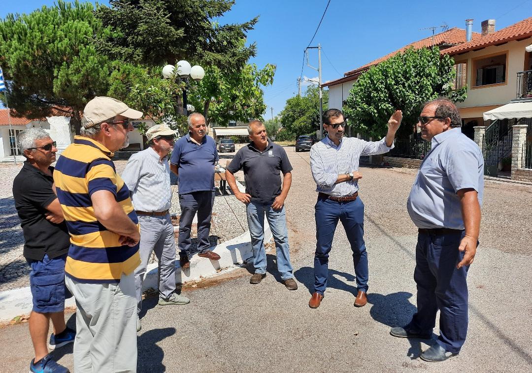 Επίσκεψη του Αντιπεριφερειάρχη Π.Ε Ηλείας, Βασίλη Γιαννόπουλου, στο Οροπέδιο της Φολόης- Επέβλεψε τις εργασίες συντήρησης του επαρχιακού οδικού δικτύου