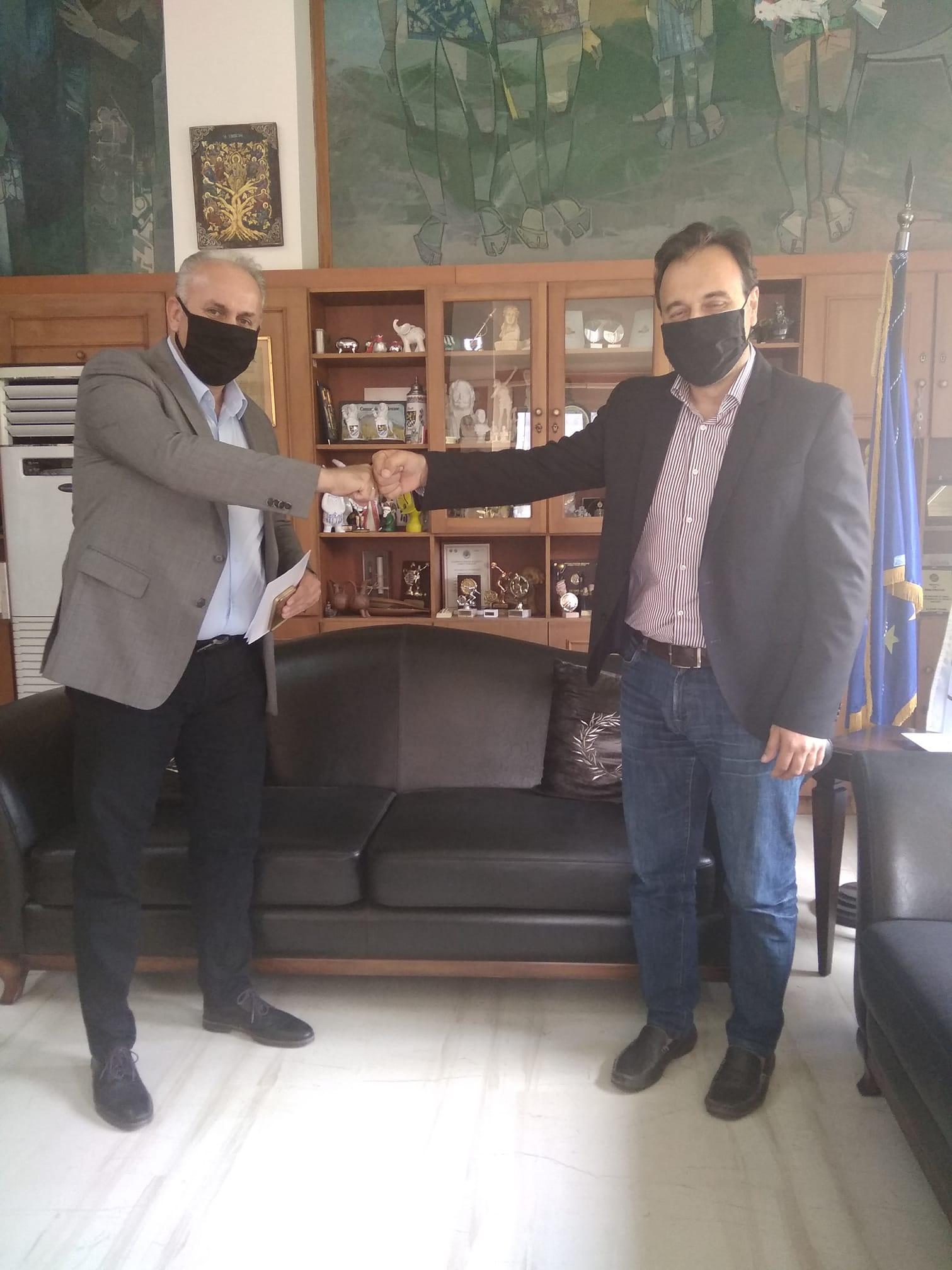 Δήμος Πύργου- Μαρίνος Αχτύπης: «Στα Τρίκαλα για το μέλλον και την εξέλιξη της Δημοτικής Αστυνομίας»