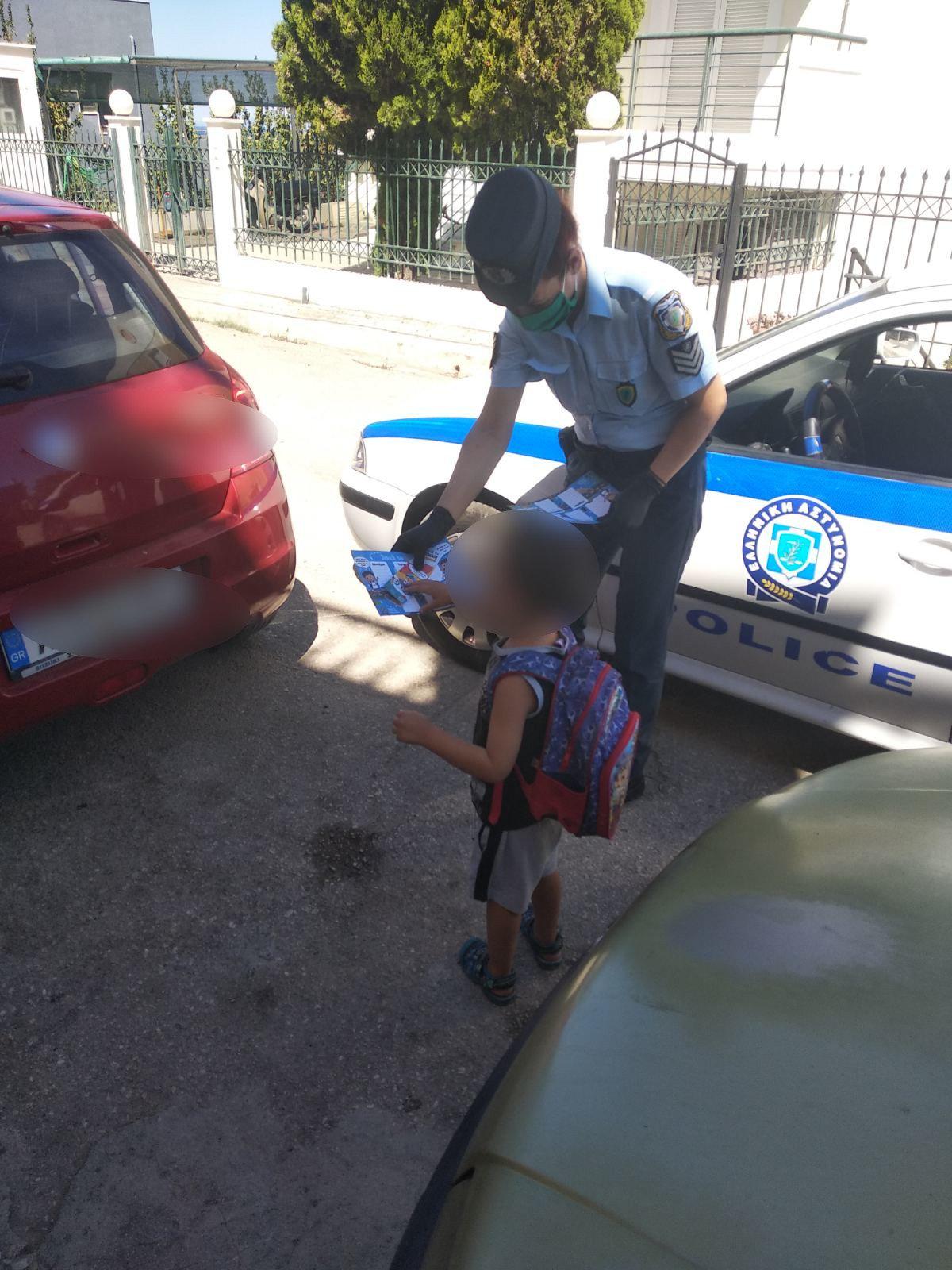 Η Ελληνική Αστυνομία βρέθηκε και φέτος σε Δημοτικά Σχολεία στη Δυτική Ελλάδα (photos)