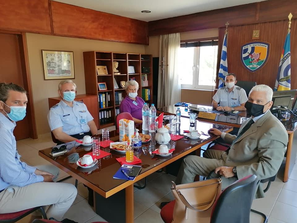 ΠΔΕ: Επίσκεψη του Αντιπεριφερειάρχη Επιχειρηματικότητας, Έρευνας και Καινοτομίας Φ. Ζαΐμη στο Εργοστάσιο Αράξου