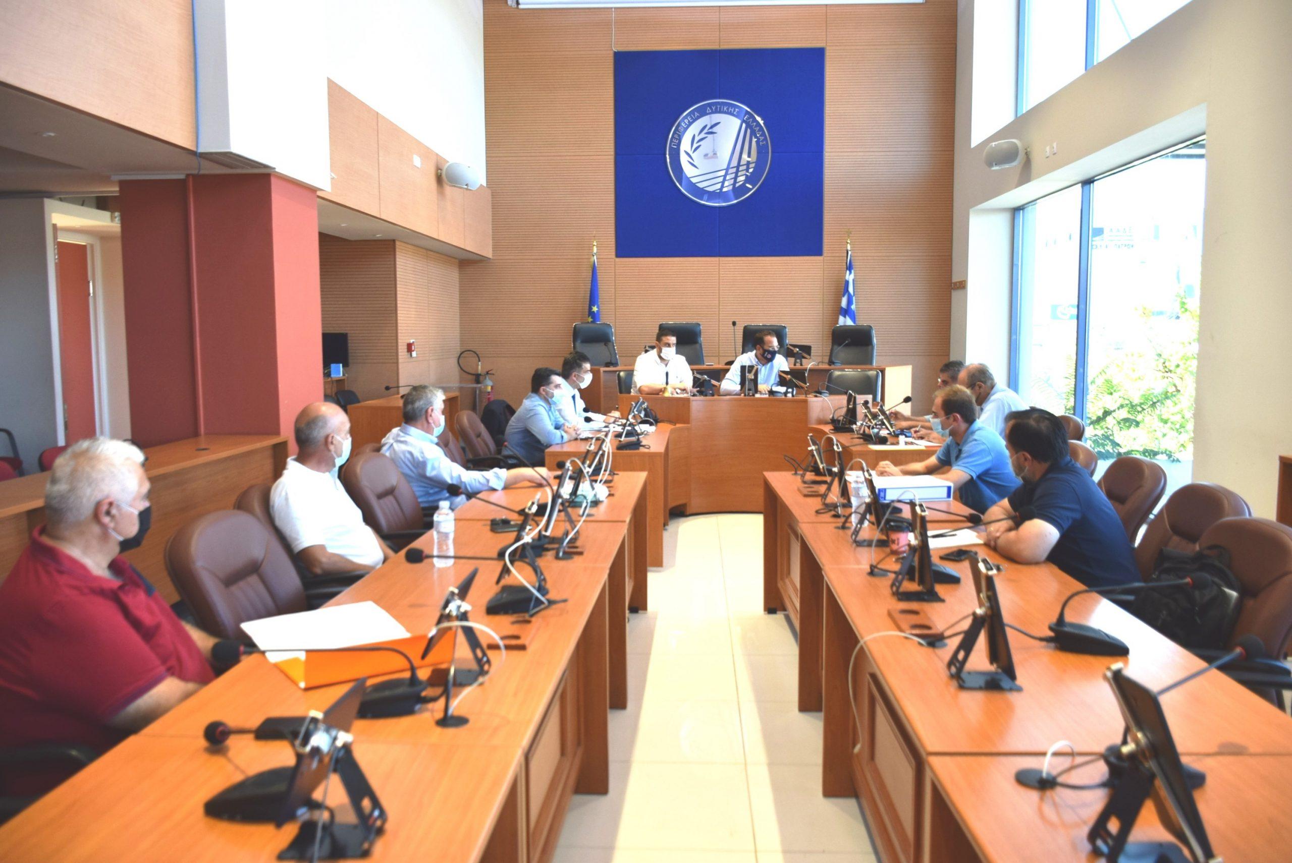 ΠΔΕ: Σύσκεψη για την προώθηση των έργων βελτίωσης της οδικής ασφάλειας στην Πατρών – Πύργου και την σύνδεση του Αγρινίου με την Ιόνια Οδό (photos)