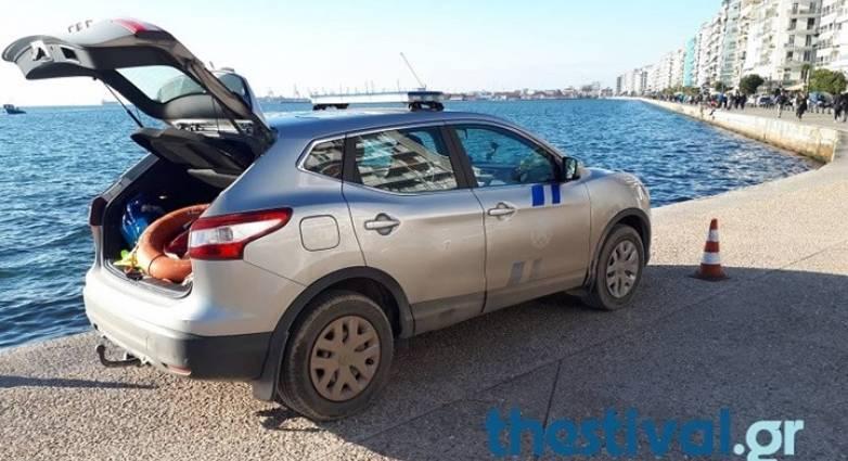 Δύο γυναίκες έπεσαν με το αυτοκίνητο στον Θερμαϊκό