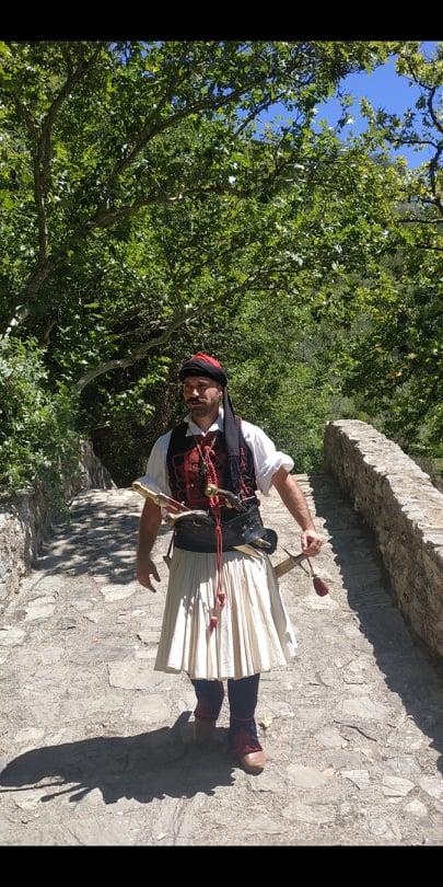 """Ταινία- Ντοκιμαντέρ για την πρώτη μάχη του 1821  στην περιοχή μεταξύ Ανδρίτσαινας και Καρύταινας- Συμμετείχε ενεργά ο Σύλλογος Φίλων Ιστορίας """"Χαράλαμπος Βιλαέτης"""" της Ηλείας (photos)"""