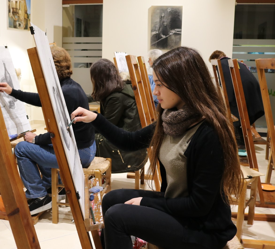 Ξεκινούν οι αιτήσεις εγγραφής στο Εργαστήρι Ζωγραφικής του Δήμου Πύργου