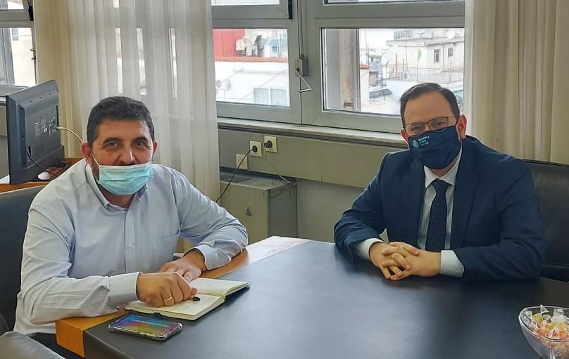 ΠΔΕ: Ανάδειξη της Ηλείας με το τρένο στις ράγες – Συνάντηση Ν. Κοροβέση και Θ. Κοτταρά για την ανάπτυξη του σιδηροδρόμου