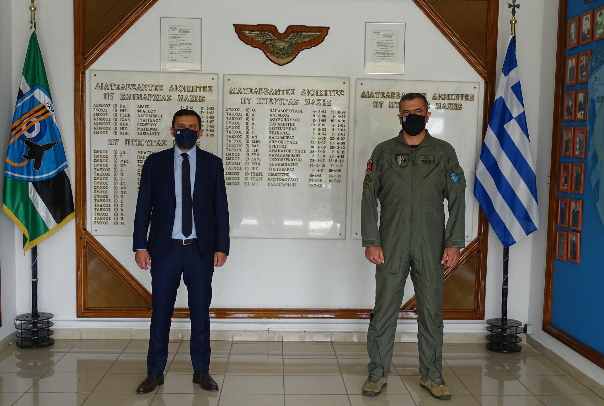 Με τον Διοικητή της 117 ΠΜ Ανδραβίδας ο Βουλευτής Ανδρέας Νικολακόπουλος: Οι Ένοπλες Δυνάμεις μας κάνουν περήφανους!